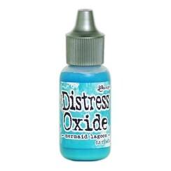 TDR57154 - Ranger Distress Oxide Re- inker 14 ml - mermaid lagoon 154 Tim Holtz