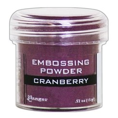 EPJ60352 - Ranger Embossing Powder 34ml -  cranberry metallic 352