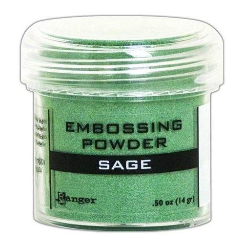 Tim Holtz EPJ60406 - Ranger Embossing Powder 34ml -  sage metallic 406