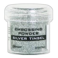 EPJ60437 - Ranger Embossing Powder 34ml -  silver tinsel 437