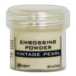 EPJ60468 - Ranger Embossing Powder 34ml -  vintage pearl 468