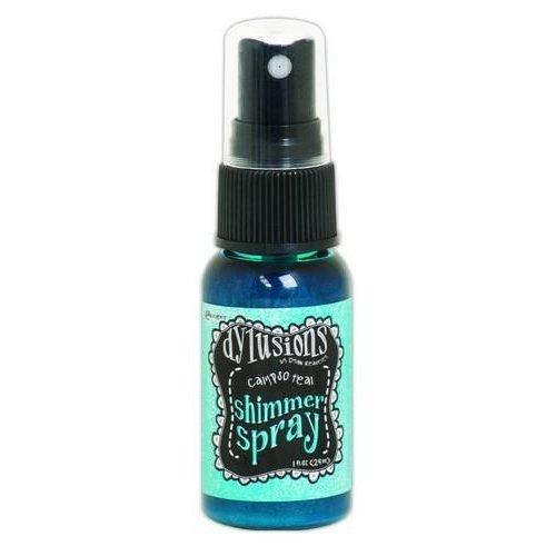 Tim Holtz DYH60789 - Ranger Dylusions Shimmer Spray 29 ml - calypso teal 789 Dyan Reaveley