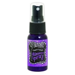 DYH60796 - Ranger Dylusions Shimmer Spray 29 ml - crushed grape 796 Dyan Reaveley