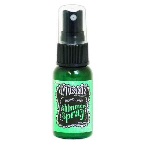 Tim Holtz DYH60840 - Ranger Dylusions Shimmer Spray 29 ml - polished jade 840 Dyan Reaveley