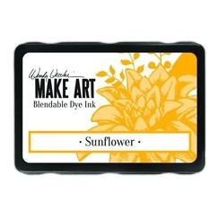 WVD62653 - Ranger MAKE ART Dye Ink Pad Sunflower 653 Wendy Vecchi 5,8x8,3cm