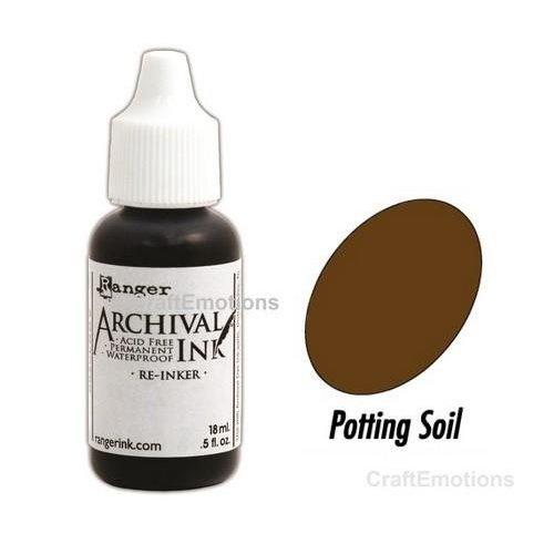Tim Holtz ARD39037 - Ranger Archival Reinkers - potting soil 037 Wendy Vecchi