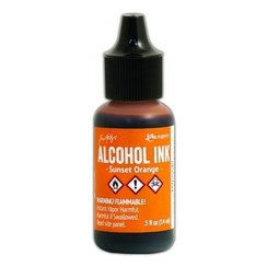 TAB25542 - Ranger Alcohol Ink 15 ml - sunset orange 542 Tim Holz