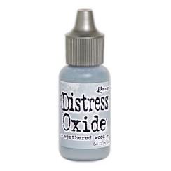 TDR57437 - Ranger Distress Oxide Re- Inker 14 ml - Weathered Wood 437 Tim Holtz