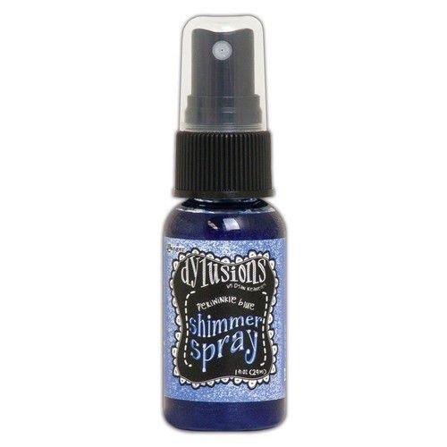 Tim Holtz DYH68402 - Ranger Dylusions Shimmer Spray 29 ml - Periwinkle Blue 402