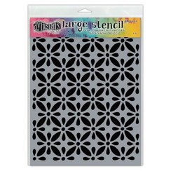DYS68709 - Ranger Dylusions Stencils Quilts - Large 709