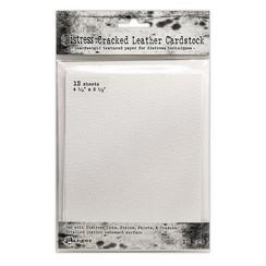 TDA71310 - Ranger Distress Cracked Leather Paper 4.25x5.5 12 vel 310