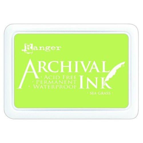 Tim Holtz AIP70801 - Ranger Archival Ink pad - sea grass 801
