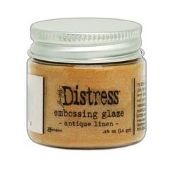 TDE70948 - Ranger Distress Embossing Glaze Antique Linen 948 Tim Holtz