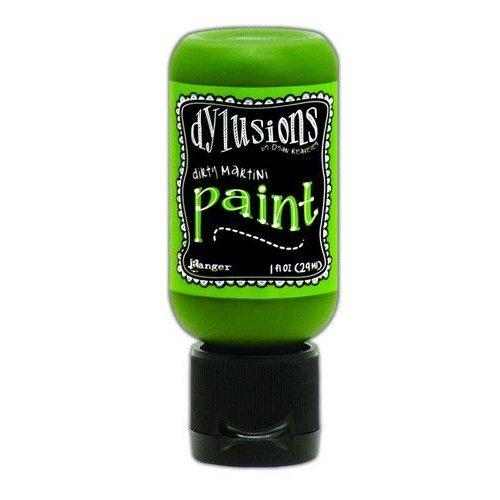 Tim Holtz DYQ70467 - Ranger Dylusions Paint Flip Cap Bottle 29ml - Dirty Martini 467