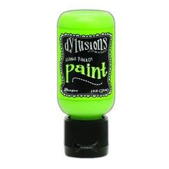 DYQ70504 - Ranger Dylusions Paint Flip Cap Bottle 29ml - Island Parrot 504