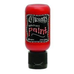 DYQ70610 - Ranger Dylusions Paint Flip Cap Bottle 29ml - Postbox Red 610