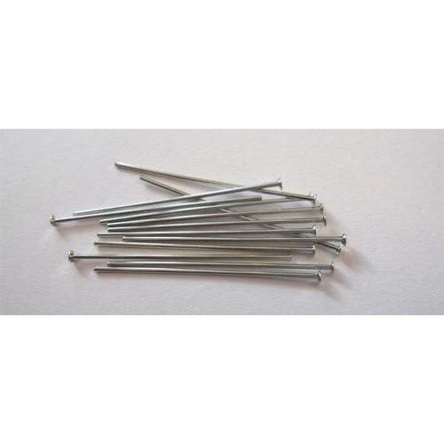 10317-3201 - Kettelstiften met kop zilverkleur 32 mm 100 ST -3201
