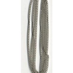 11809-9401 - Ketting fijn zilverkleur 1,9 mm 1 MT -9401