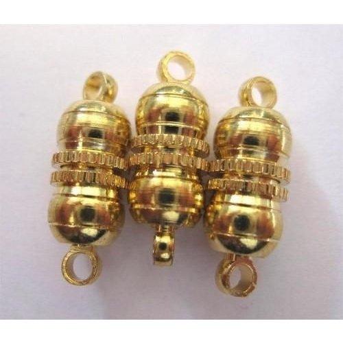 10301-0962 - Magneetsluitingen bolvorm goudkleur 10 mm 3 ST -0962