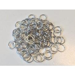 12335-3523 - Key Rings 18mm platinum 9 ST -3523