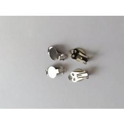 12199-9902 - Oorclip 9,5MM platinum 2paar -9902