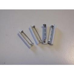 11808-1161 - Brochespelden met zelfklevend foam 32mm 4 ST -1161