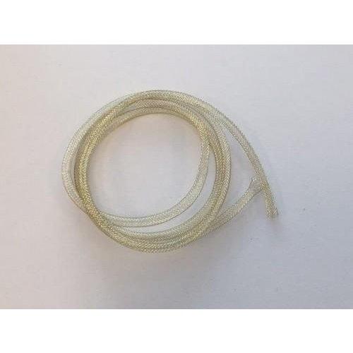 12348-4802 - Metaal Fish Net Tube goud 5mm 1MT -4802
