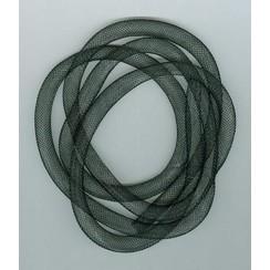 12298-9801 - Fish Net Tubes 8mm zwart 1 MT -9801