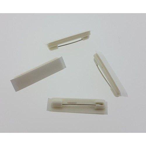 11808-1162 - Brochespelden wit met zelfklevend foam 32mm 4 ST -1162