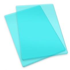 660522 - Sizzix Accessory - Cutting pads standard 1 pair (mint) 2
