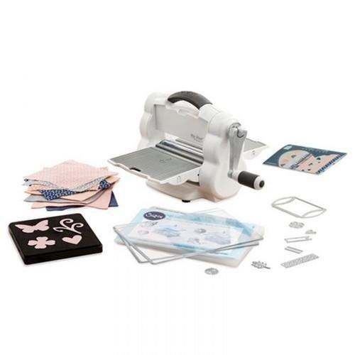 Sizzix 662220 - Sizzix Big Shot Foldaway Starter Kit White & Grey  0