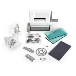 661770 - Sizzix Sidekick Starter Kit - White & Gray 0