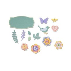 663583 - Sizzix Thinlits Die Set - 11PK Spring Things 3 Lynda Kanase