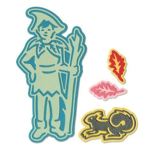 Sizzix 662851 - Sizzix Thinlits Die  set -  8PK Fairy #4 1 Jorli Perine