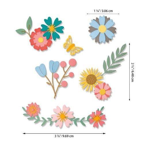 Sizzix 664455 - Sizzix Thinlits Die Set - Petite Petals 20PK 5 Emily Tootle