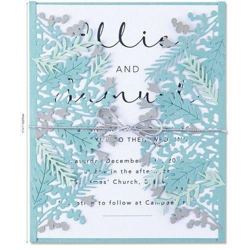 Sizzix 664585 - Sizzix Thinlits Die Set - Foliage Wrap 7PK 5 Olivia Rose