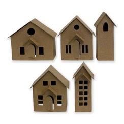 664741 - Sizzix Thinlits Die Set - 16PK Paper Village 1 Tim Holtz