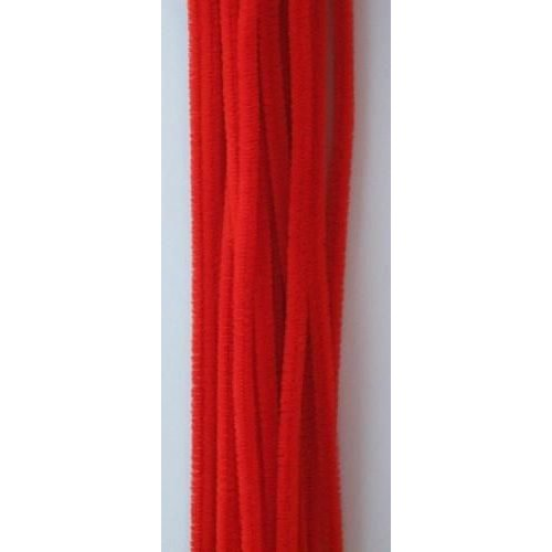 12271-7103 - Chenille rood 6mm x 30cm 20st