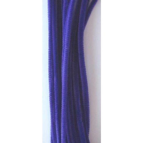 12271-7104 - Chenille lila 6mm x 30cm 20st