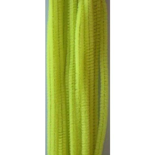 12271-7106 - Chenille lemon 6mm x 30cm 20st