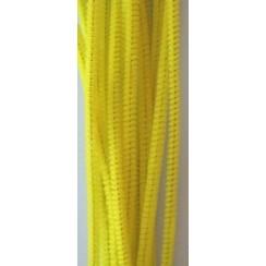 12271-7107 - Chenille geel 6mm x 30cm 20st