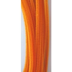 12271-7108 - Chenille orange 6mm x 30cm 20st