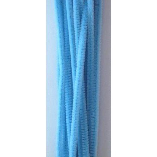 12271-7109 - Chenille aqua 6mm x 30cm 20st