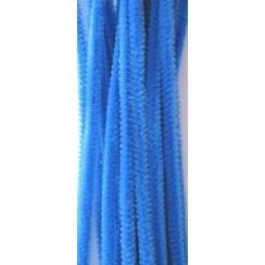 12271-7110 - Chenille blauw 6mm x 30cm 20st