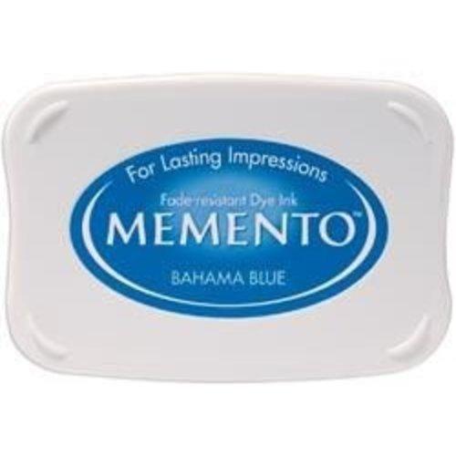ME-000-601 - Memento Inkpad Bahama Blue