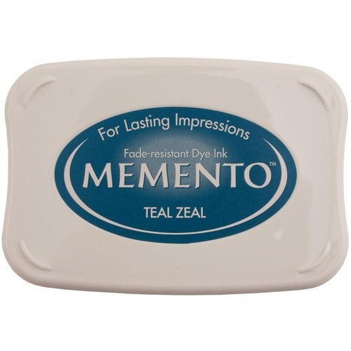 ME-000-602 - Memento Inkpad Teal Zeal