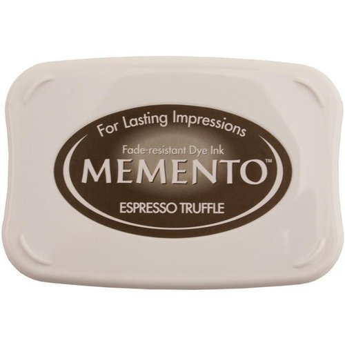 ME-000-808 - Memento Inkpad Espresso Truffle