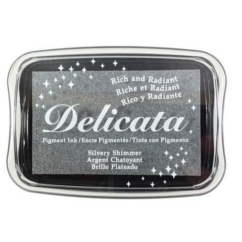 DE-000-192 - Delicata Silvery Shimmer Inkpad