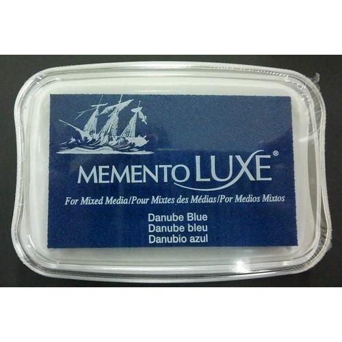 ML-000-600 - Memento Luxe Inkpad-Danube Blue