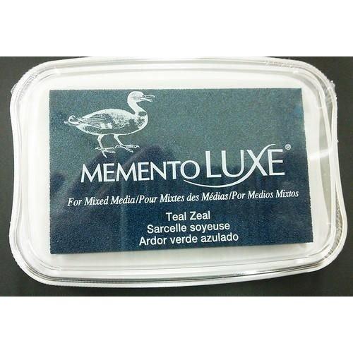 ML-000-602 - Memento Luxe Inkpad-Teal Zeal